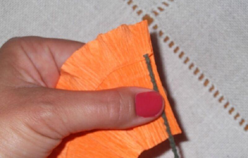 Гвоздики из бумаги своими руками — пошаговые мастер-классы для детей этап 39