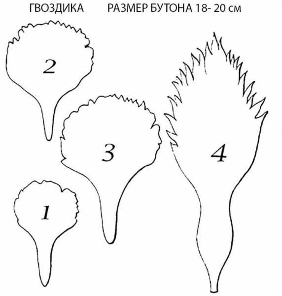 Гвоздики из бумаги своими руками — пошаговые мастер-классы для детей этап 65