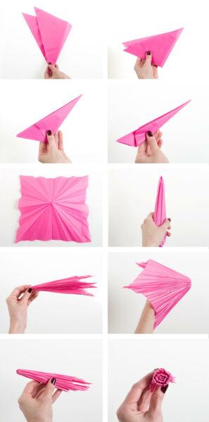 Гвоздики из бумаги своими руками — пошаговые мастер-классы для детей этап 22