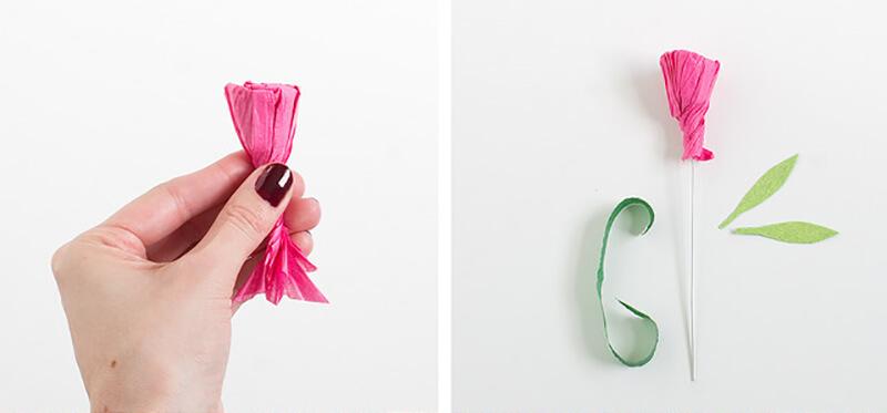 Гвоздики из бумаги своими руками — пошаговые мастер-классы для детей этап 23