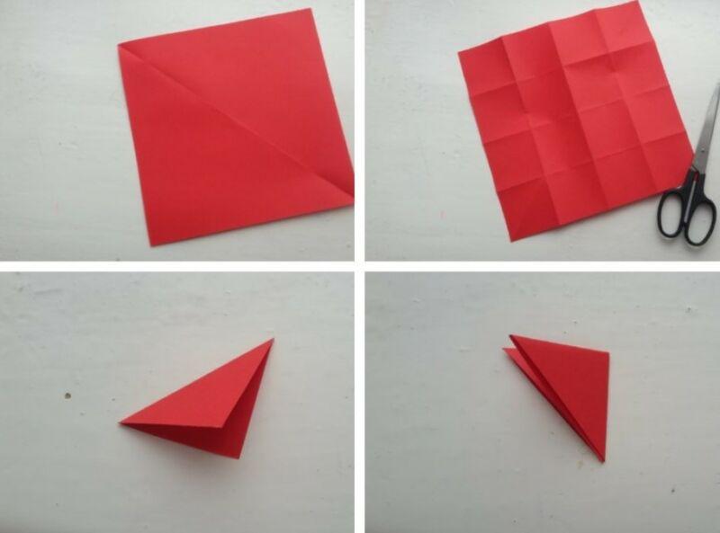Гвоздики из бумаги своими руками — пошаговые мастер-классы для детей этап 25