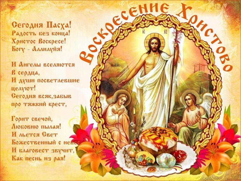 Поздравления на Пасху: красивые, короткие и прикольные стихи с Христовым Воскресеньем этап 1