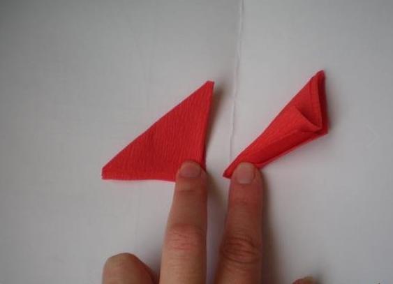 Гвоздики из бумаги своими руками — пошаговые мастер-классы для детей этап 9