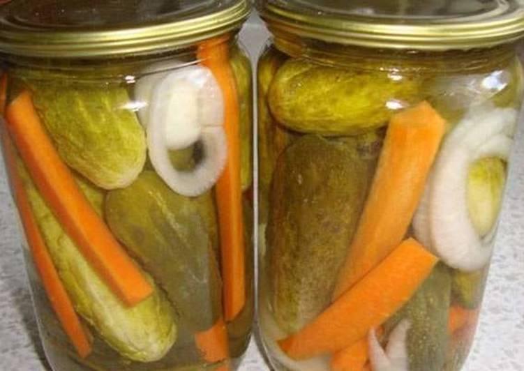 Огурцы по-болгарски на зиму — 7 самых вкусных рецептов этап 28