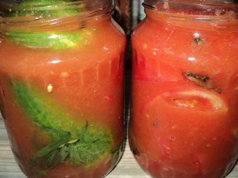 Огурцы в томате на зиму — 6 обалденных рецептов этап 12