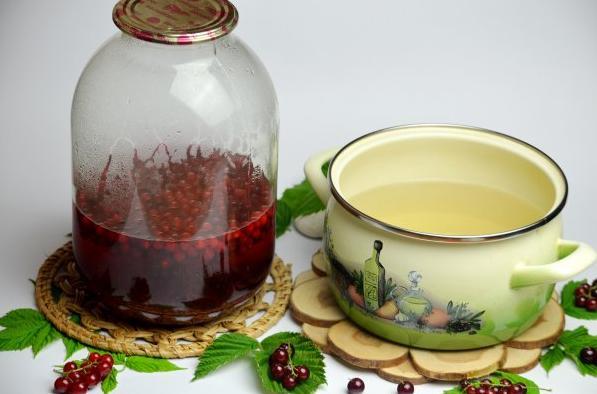 Компот из красной смородины на зиму: 6 рецептов приготовления компота этап 36