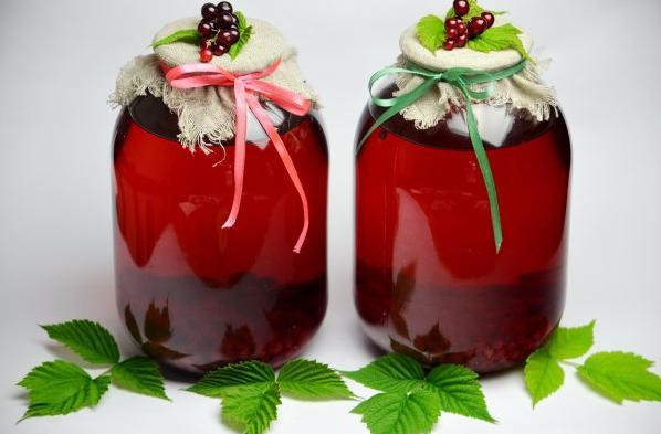 Компот из красной смородины на зиму: 6 рецептов приготовления компота этап 29