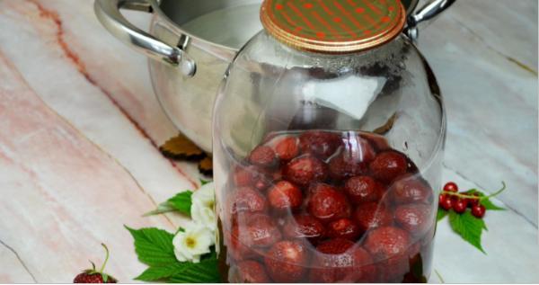 Компот из красной смородины на зиму: 6 рецептов приготовления компота этап 9