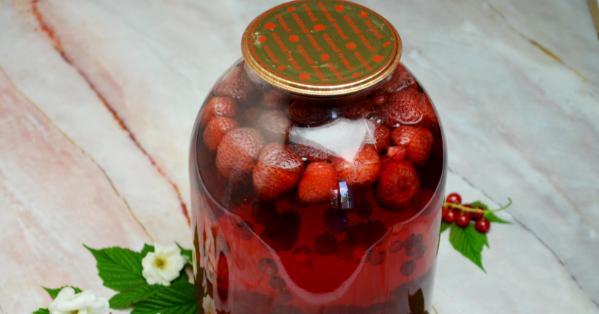 Компот из красной смородины на зиму: 6 рецептов приготовления компота этап 10