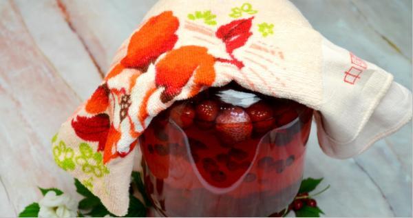 Компот из красной смородины на зиму: 6 рецептов приготовления компота этап 11