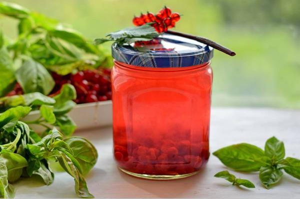 Компот из красной смородины на зиму: 6 рецептов приготовления компота этап 47