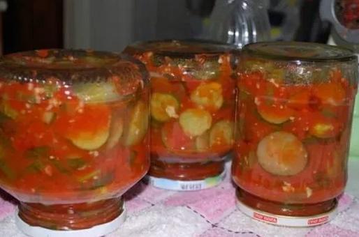 Огурцы в томате на зиму — 6 обалденных рецептов этап 31