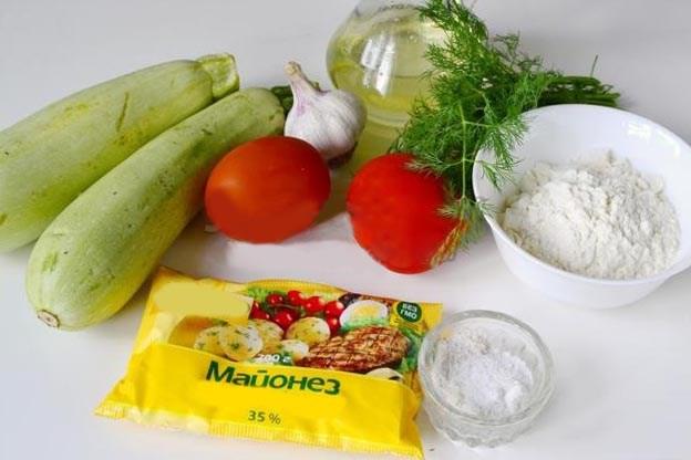 Жареные кабачки с чесноком — быстрый и вкусный рецепт этап 2