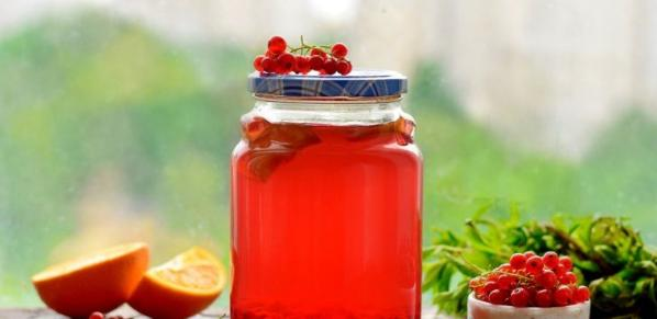 Компот из красной смородины на зиму: 6 рецептов приготовления компота этап 22