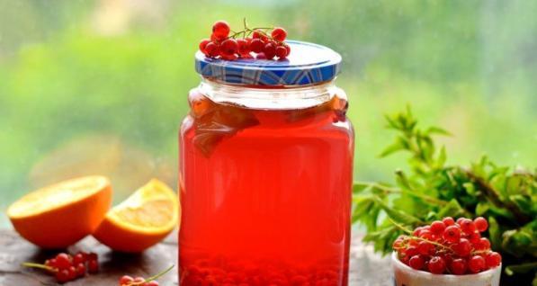 Компот из красной смородины на зиму: 6 рецептов приготовления компота этап 14