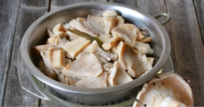 Грузди, соленые горячим способом в банках на зиму по рецептам быстрого приготовления этап 7