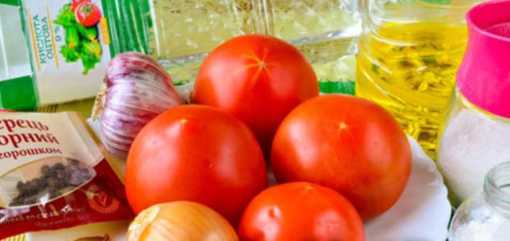 Помидоры дольками с луком и маслом на зиму: рецепты «пальчики оближешь» этап 18