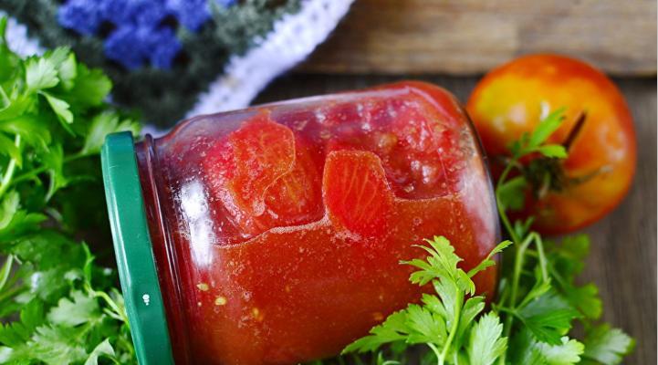 Помидоры в собственном соку — 6 простых рецептов на зиму этап 42