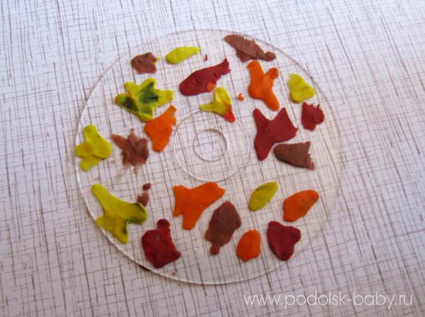 Осенние поделки из листьев своими руками (все новинки для детей детского сада и школы) этап 51