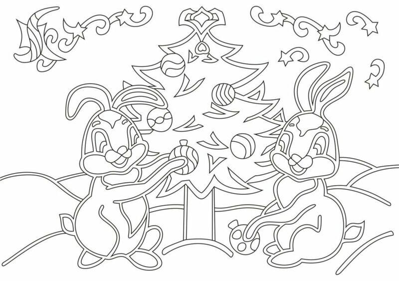 Вытынанки на Новый 2021 год: шаблоны и трафареты для распечатки и вырезания на окна этап 38