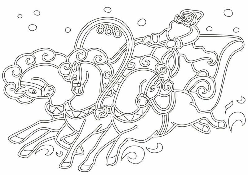 Вытынанки на Новый 2021 год: шаблоны и трафареты для распечатки и вырезания на окна этап 40