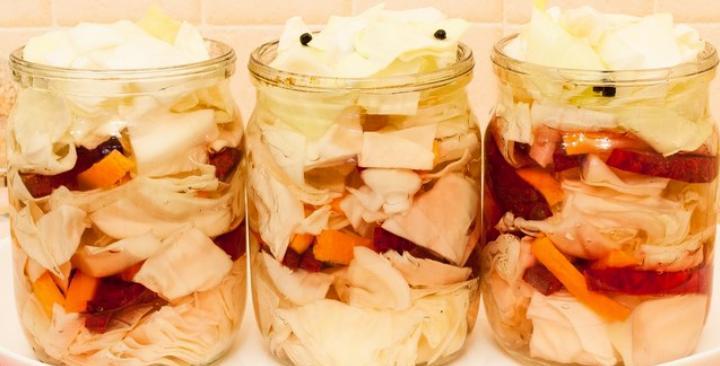 Маринованная капуста пилюска — 6 рецептов быстрого приготовления вкусной капусты этап 10