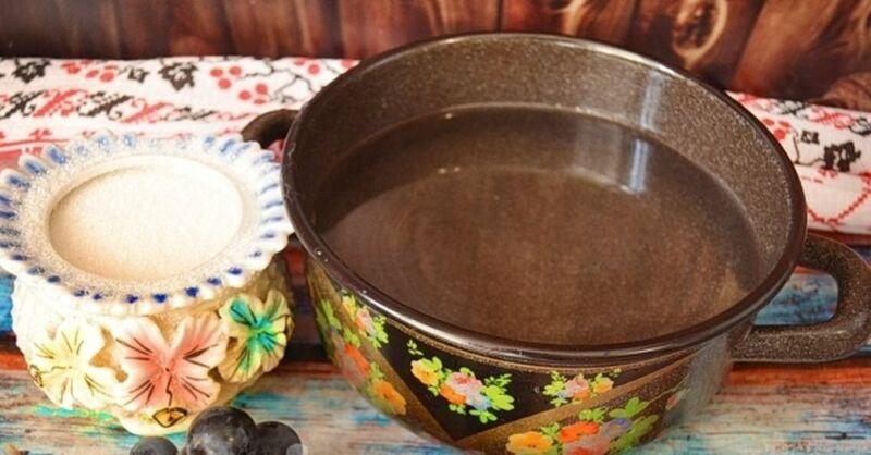 Компот из винограда на зиму — 5 рецептов на 3 литровую банку этап 17