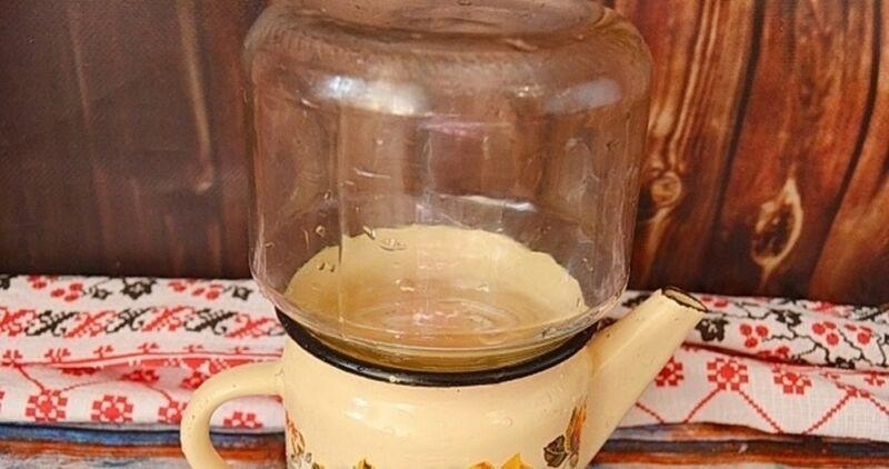 Компот из винограда на зиму — 5 рецептов на 3 литровую банку этап 18