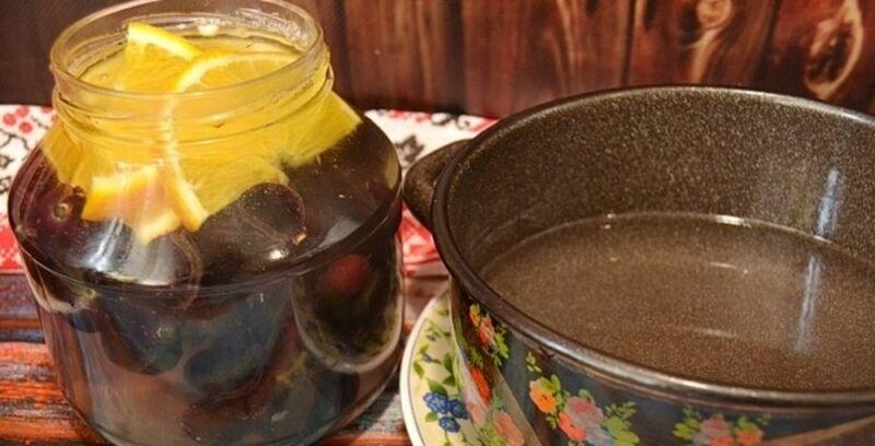 Компот из винограда на зиму — 5 рецептов на 3 литровую банку этап 19