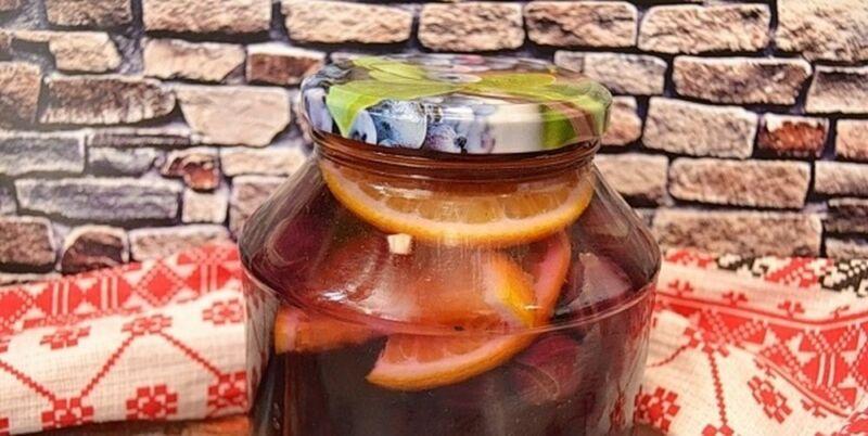 Компот из винограда на зиму — 5 рецептов на 3 литровую банку этап 20