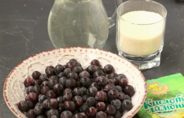 Компот из винограда на зиму — 5 рецептов на 3 литровую банку этап 11