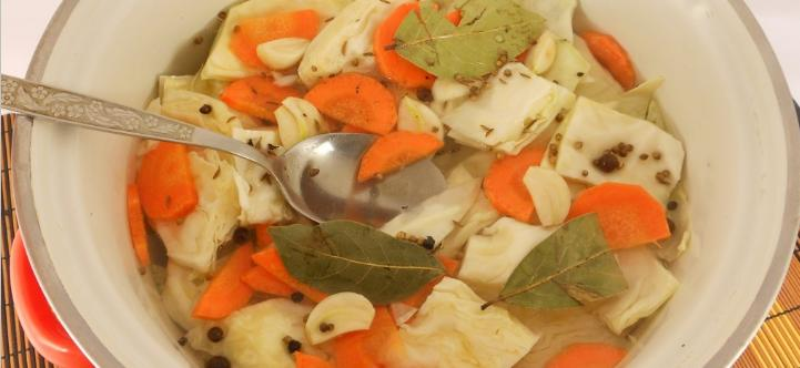 Маринованная капуста пилюска — 6 рецептов быстрого приготовления вкусной капусты этап 45