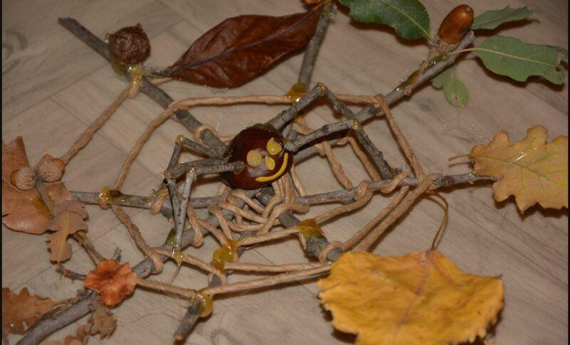 Осенние поделки из листьев своими руками (все новинки для детей детского сада и школы) этап 57