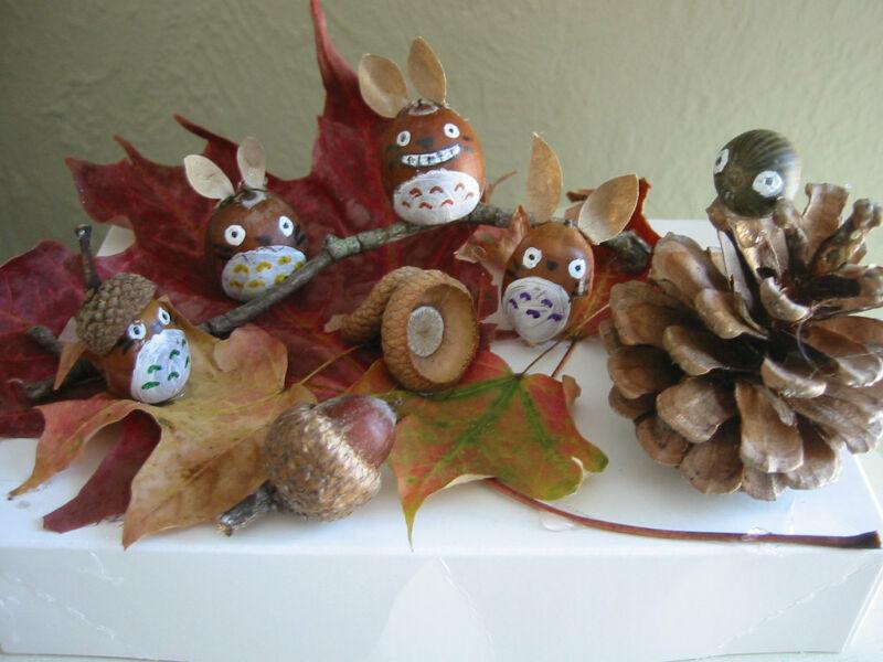 Осенние поделки из листьев своими руками (все новинки для детей детского сада и школы) этап 46