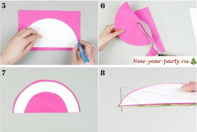 Новогодние шары своими руками на 2021 год этап 10