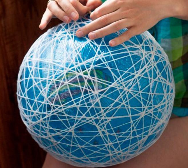 Новогодние шары своими руками на 2021 год этап 52