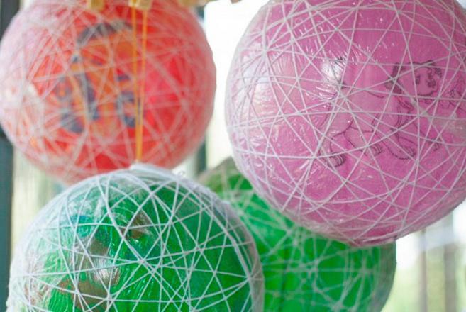Новогодние шары своими руками на 2021 год этап 53