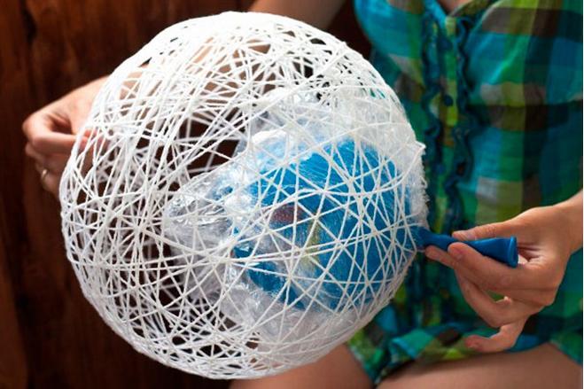 Новогодние шары своими руками на 2021 год этап 54