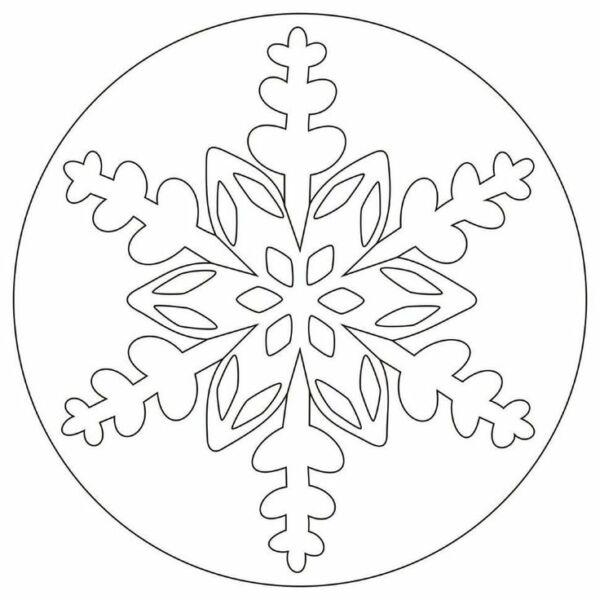 Вытынанки на Новый 2021 год: шаблоны и трафареты для распечатки и вырезания на окна этап 50