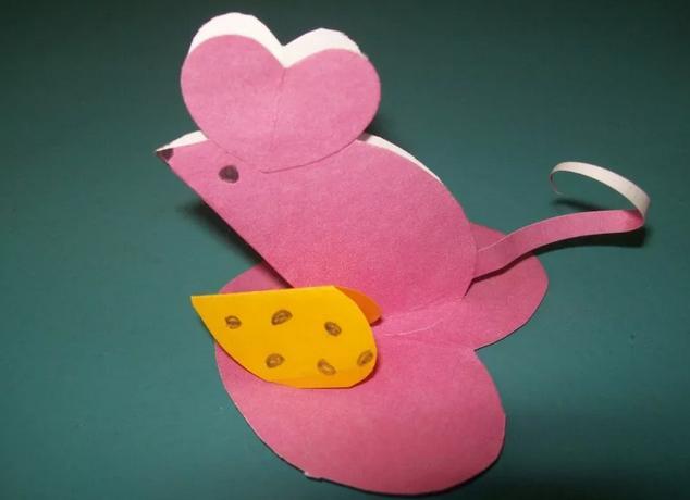 Крыса (мышь) своими руками на Новый год — поделки в виде символа года 2020 из разных материалов этап 132