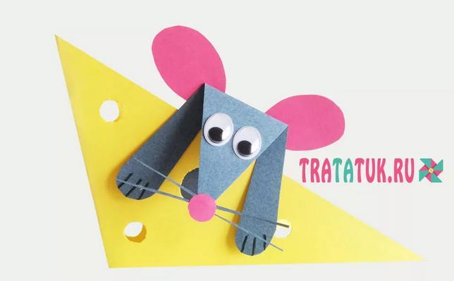 Крыса (мышь) своими руками на Новый год — поделки в виде символа года 2020 из разных материалов этап 135
