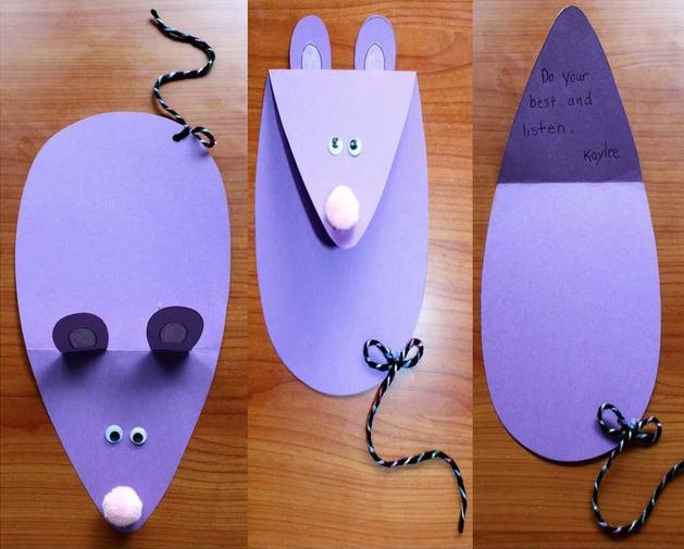 Крыса (мышь) своими руками на Новый год — поделки в виде символа года 2020 из разных материалов этап 139