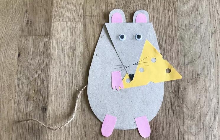 Крыса (мышь) своими руками на Новый год — поделки в виде символа года 2020 из разных материалов этап 131