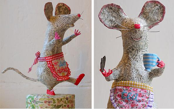 Крыса (мышь) своими руками на Новый год — поделки в виде символа года 2020 из разных материалов этап 94