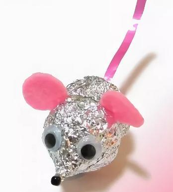 Крыса (мышь) своими руками на Новый год — поделки в виде символа года 2020 из разных материалов этап 89