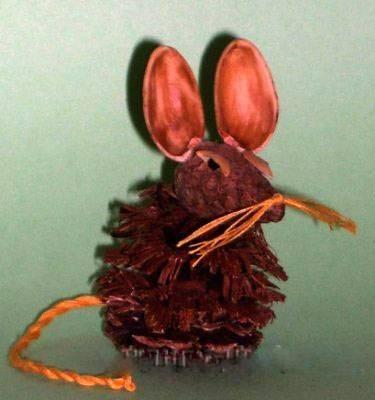 Крыса (мышь) своими руками на Новый год — поделки в виде символа года 2020 из разных материалов этап 98