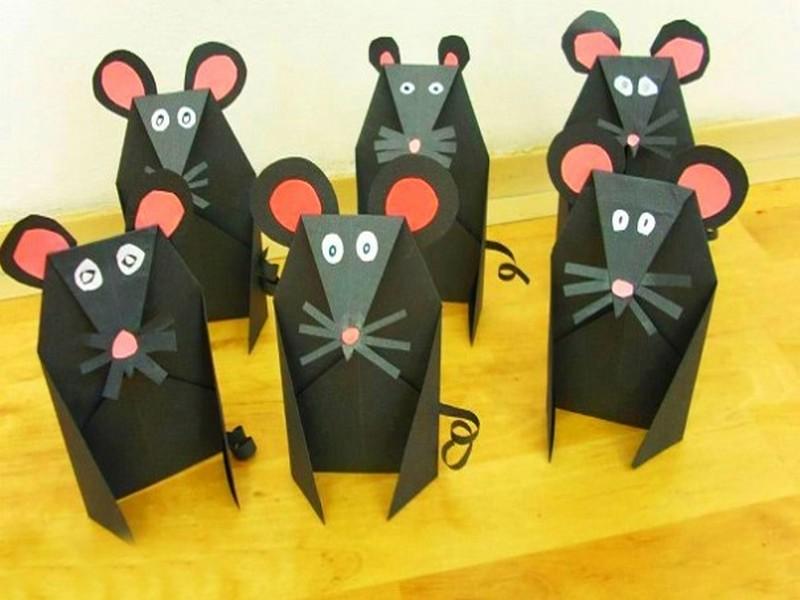Крыса (мышь) своими руками на Новый год — поделки в виде символа года 2020 из разных материалов этап 96