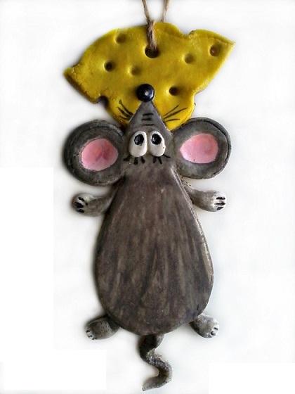 Крыса (мышь) своими руками на Новый год — поделки в виде символа года 2020 из разных материалов этап 102