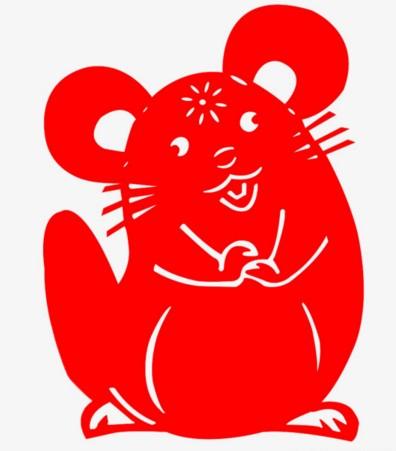 Трафареты крысы или мыши на окна к Новому году 2020 для вырезания из бумаги этап 15