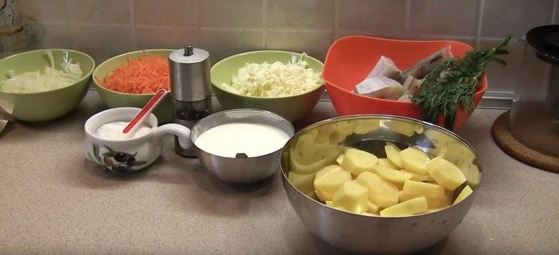 Сколько времени готовится минтай в духовке